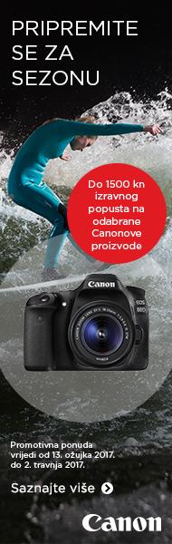 Canon DSLR fotoaparat popust GetReady akcija Canosa