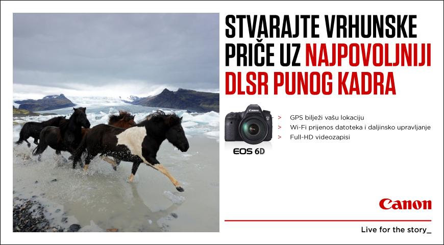 Canon EOS 6D najpovoljniji full frame DSLR