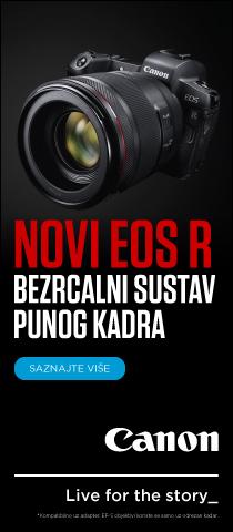 Canon EOS R novi bezrcalni sustav punog kadra