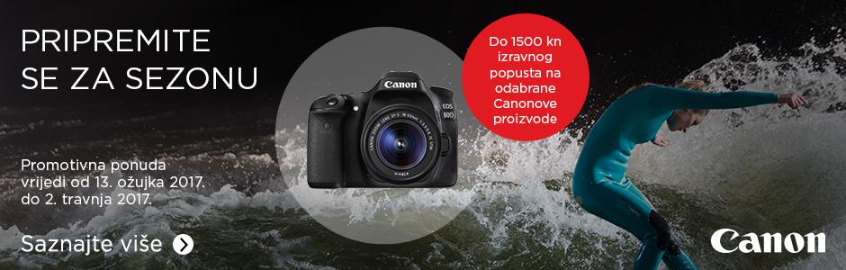 Canon GetReady akcija u Canosi popust na fotoaparate
