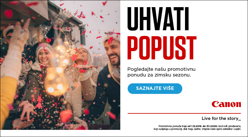 Canon Winter Promo 2019 uhvati popust 3