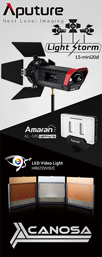 Canosa Aputure LED light Light Storm LS-mini20d