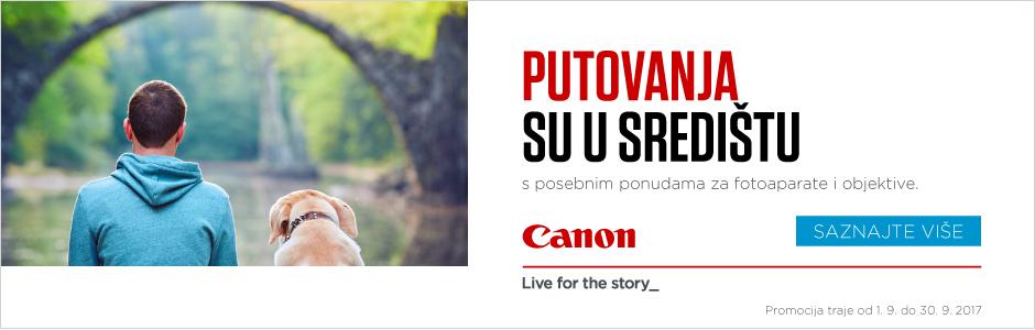 Canosa Canon različiti objektivi različite priče lens promo
