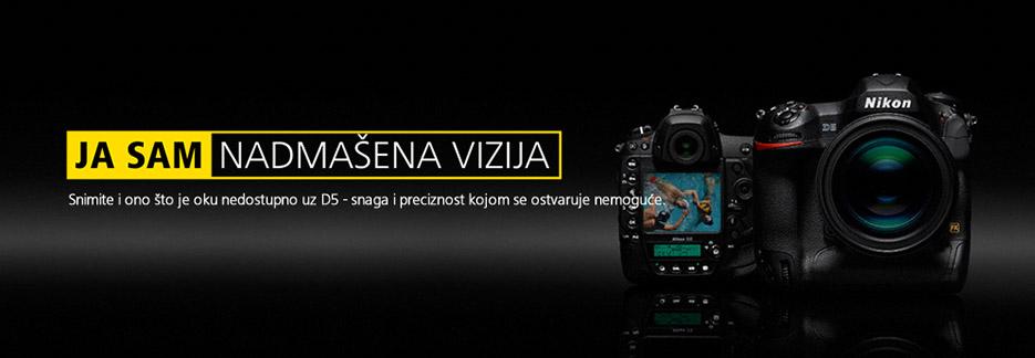 Canosa Nikon D5 full frame flagship DSLR fotoaparat