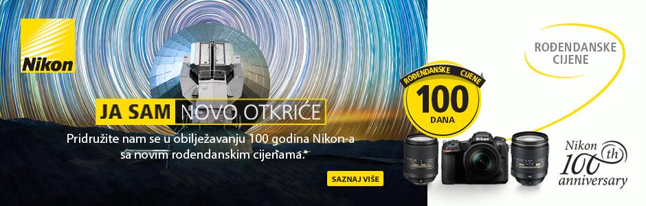 Canosa promocija popusti Nikon 100 godina