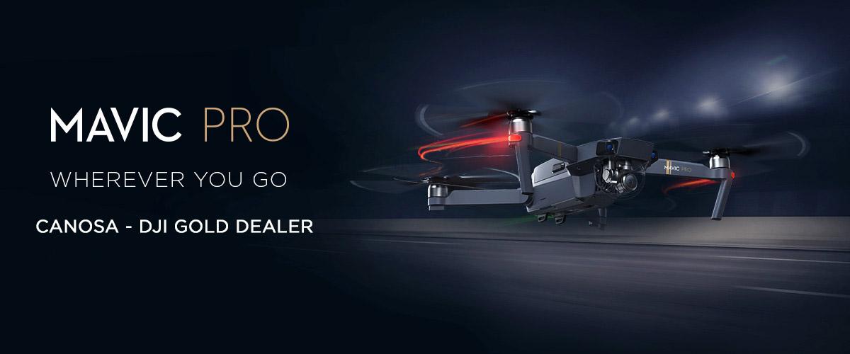 DJI Mavic PRO dron quadcopter za snimanje iz zraka Canosa DJI Gold dealer