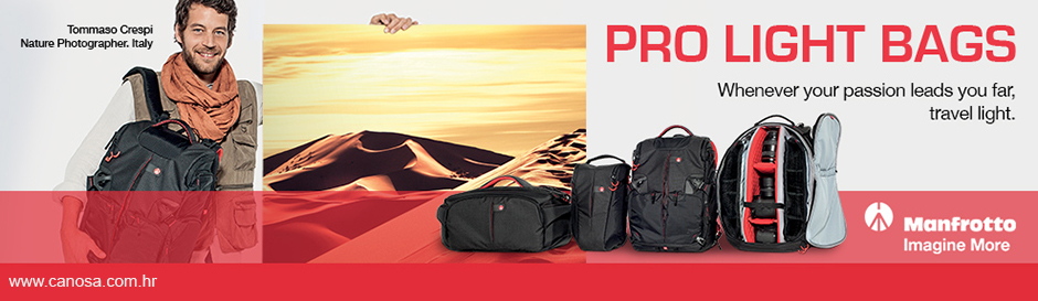 Manfrotto torbe pro foto bags