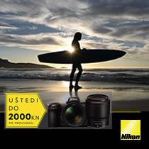 Nikon akcija Trenutne Uštede u Canosi ljeto 2019