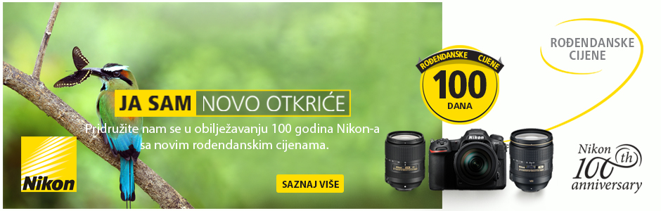 Nikon akcija u Canosi popusti povodom 100 godina Nikona