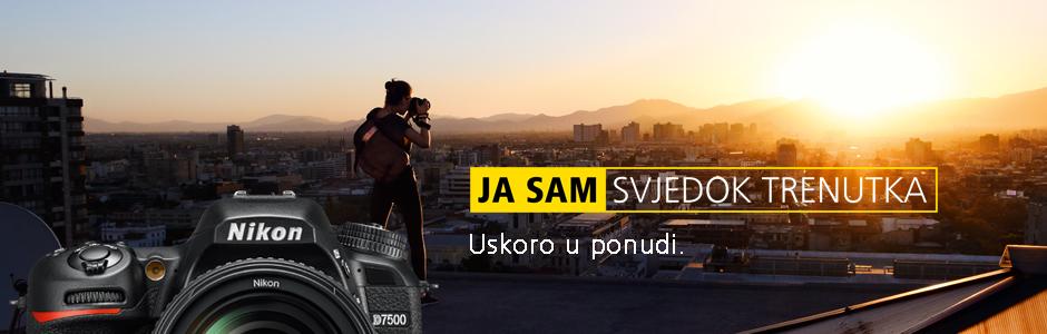 Nikon D7500 4K DX DSLR digitalni fotoaparat u Canosi