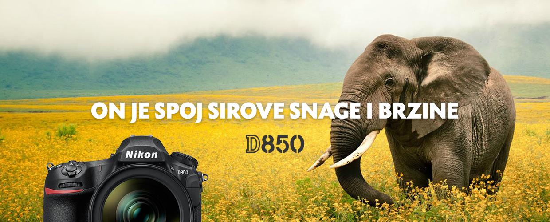 Nikon D850 full frame FX DSLR fotoaparat