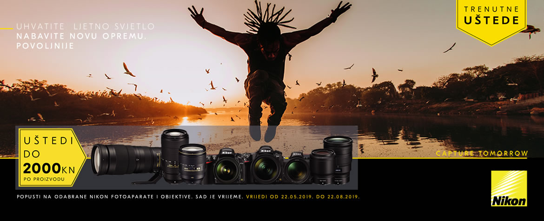 Nikon Trenutne Uštede ljeto 2019 nabavite novu opremu povoljnije