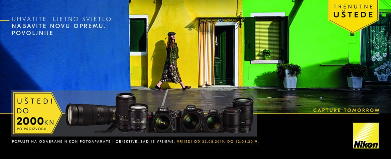 Nikon Trenutne Uštede ljeto 2019 popusti na odabrane fotoaparate