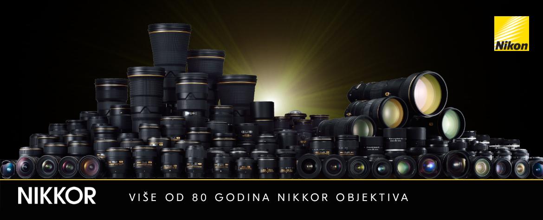 Nikon više od 80 godina Nikkor objektiva Q12020