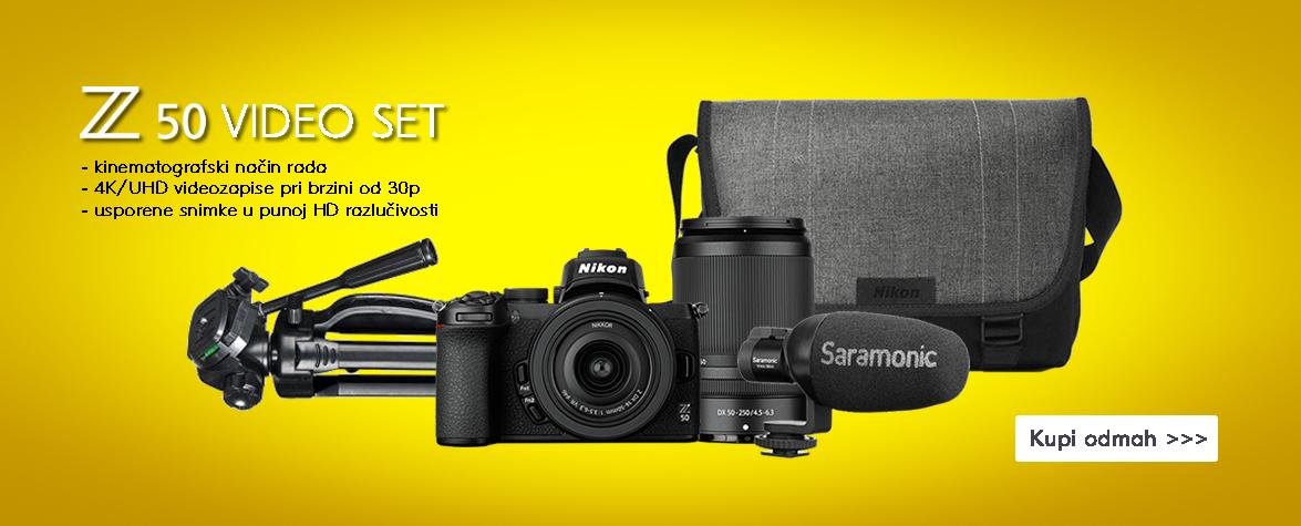 Nikon Z50 video set - AKCIJA