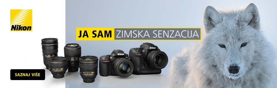 Nikon zimska senzacija - akcijske cijene DSLR fotoaparata i objektiva u Canosi