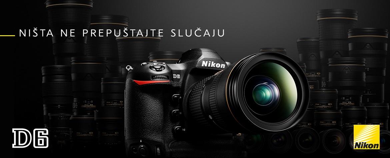 Ništa ne prepuštajte slučaju. Nikon D6
