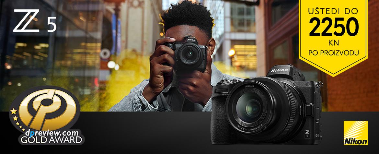Nova Nikon Z5 promocija