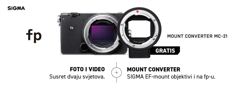 Promo ponuda - Sigma FP + MC-21