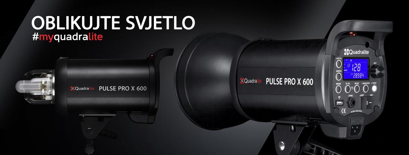 Quadralite Pulse PRO X studijske bljeskalice snage 400Ws i 600Ws