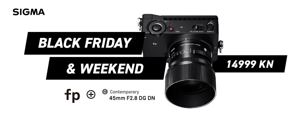 Sigma FP + 45mm f/2.8 DG DN Black Friday 27.11.2020. akcija a