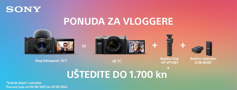 Sony ZV-1 Vlog i a7C promocija
