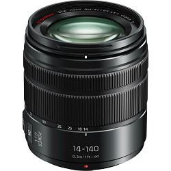 Panasonic 14-140mm f/3.5-5.6 Asph Power O.I.S. Black Lumix G Vario Allround objektiv za Micro Four Thirds MFT micro4/3