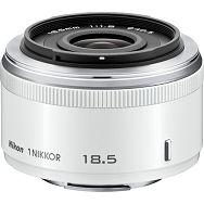1 NIKKOR 18.5mm f/1.8 White Nikon objektiv