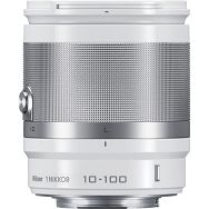 1 NIKKOR VR 10-100mm f/4.0-5.6 White Nikon objektiv