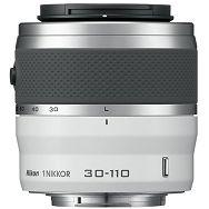 1 NIKKOR VR 30-110mm f/3.8-5.6 White Nikon objektiv JVA703DB