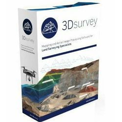 3Dsurvey Perpetual license program za fotogrametriju trajna licenca