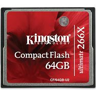 64GB Ultimate CompactFlash 266x w/Recovery s/w