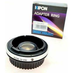 Adapter Canon FD - Canon Eos sa staklom - može fokusirati u beskonačno