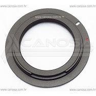 Adapter za korištenje M42 objektiva na Canon EOS EF i EF-S DSLR fotoaparatima, bez potvrde fokusa