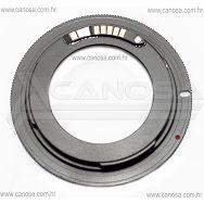 Adapter za korištenje M42 objektiva na Canon EOS EF i EF-S DSLR fotoaparatima AF confirm, sa potvrdom fokusa