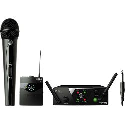 AKG MINI Dual Instrumental / Vocal Set AKG-WMS-40 MINI2 MIX SET