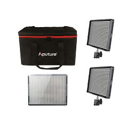 Aputure Amaran 528 KIT SSW komplet 3x CRI95+ LED Video Light + torba (2x AL-528S + 1x AL-528W) prijenosna rasvjeta za snimanje