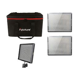Aputure Amaran 528 KIT WWS komplet 3x CRI95+ LED Video Light + torba (2x AL-528W + 1x AL-528S) prijenosna rasvjeta za snimanje