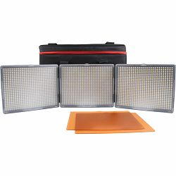 Aputure Amaran HR-672 KIT SSC (CRI95+) komplet 3x LED video light + torba 3-Point 1-Flood 2-Spot Daylight HR672 3-Light Kit HR672KIT-SSC 2x HR-672S + 1x HR-672C