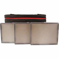 Aputure Amaran HR-672 KIT SSW (CRI95+) komplet 3x LED video light + torba 3-Point 1-Flood 2-Spot Daylight HR672 3-Light Kit HR672KIT-SSW 1x HR-672W + 2x HR-672S