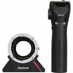 Aputure DEC Vari-ND Wireless Focus & Aperture Controller adapter Canon EF Lens to Sony E-mount