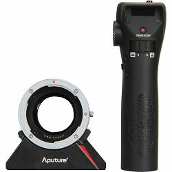Aputure DEC Wireless Focus & Aperture Controller Lens Adapter for EF and EF-S Mount Lenses to Sony E-Mount Cameras