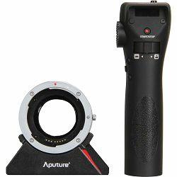 Aputure DEC Wireless Focus & Aperture Controller Lens Adapter for EF and EF-S Mount Lenses to Olympus Panasonic MFT Mount Cameras