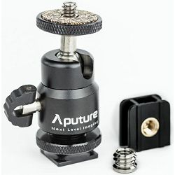 Aputure Hot Shoe Ball Head univerzalna kuglasta mini glava 1/4