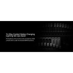Aputure Light Storm LS 1/2w V-mount Battery LED Light with Controller Box CRI98+ Wireless remote 120 flood light rasvjeta za video snimanje