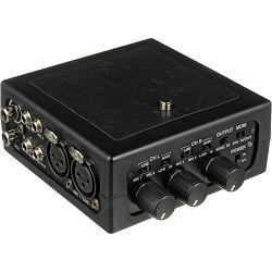 Azden FMX-DSLR Portable Audio Mixer with Pre Amp for Digital SLR Camera