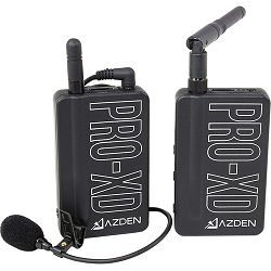 Azden PRO-XD 2.4 GHz Digital Wireless Lavalier System mikrofon za DSLR, smartphone, kamere