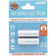 Baterije punjive Eneloop Lite HR-3UQ-2BP, 2xAA Lite