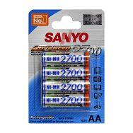 Sanyo NiMH HR-3U-4BP 4xAA 2700 mAh punjive baterije