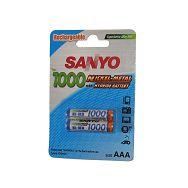 Baterije punjive Sanyo NiMH HR-4U-2BP 2xAAA 1000 mAh